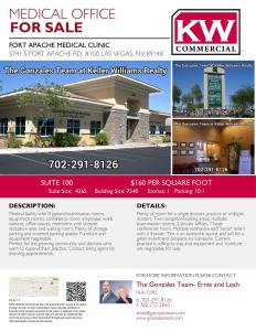 Commercial Real Estate Las Vegas, Henderson Nevada